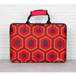 India Circus Prismatic Hexagons Laptop Sleeve and Bag