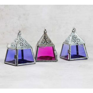 Pyramid Candle Lanterns