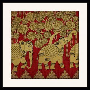 Elephant Grandiose Framed Wall Art