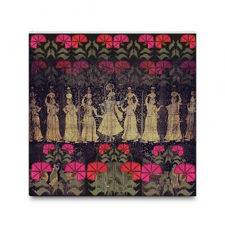 Cosmic Courtesan Canvas Mounted Wall Art