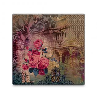 Spellbound Sprouts Canvas Mounted Wall Art
