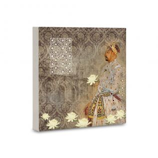 The Nawabs Sonnet Canvas Mounted Wall Art