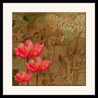 Lotus Divine Framed Wall Art