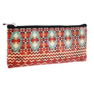 Tribal Emerald Small Utility Pouch