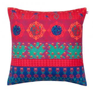 Tropical Wonderland Poly Velvet Cushion Cover