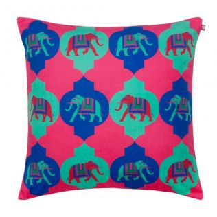 Tusker Treat Poly Velvet Cushion Cover