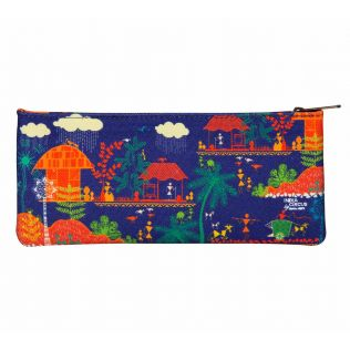 India Circus Village Reverie Small Makeup Pouch