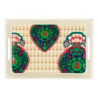 Floral Flavours Rectangle Serving Platter