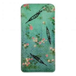 Boats and Flowers Spectacle Case