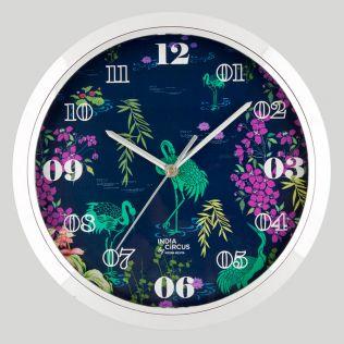 Midnight Lagoon Wall Clock