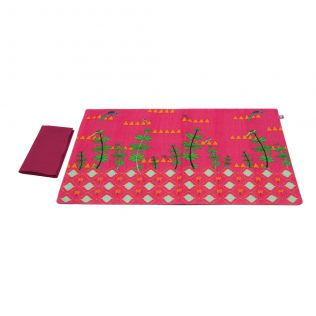 Geometric Paradise Table Mats and Napkins Set