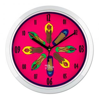 Technicolor Jootis Wall Clock