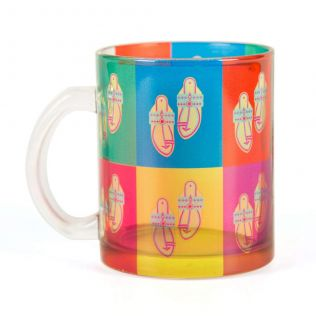 Toe tal Funk Glass Mug