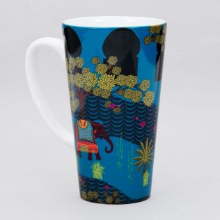 Riding with Royalty Conical Mug