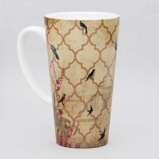 The World from my Window Conical Mug