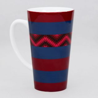 Valley of Lines Conical Mug