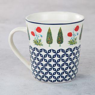 Flowers and Ferns Mug
