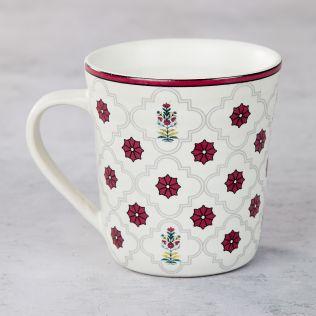 Floral Lattice Mug