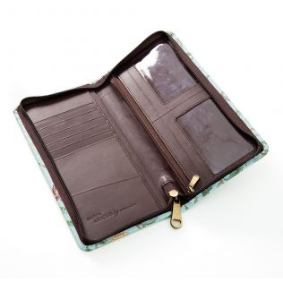 Leather Travel Wallet Online - Flights of Vivers Travel Wallet