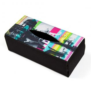 Strokes of India Tissue Box Holder