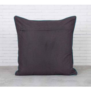 Geometric Chimera Satin Blend Cushion Cover