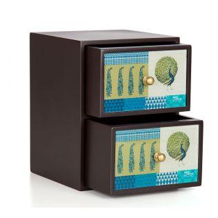Geometric Pirouette Multi utility drawers