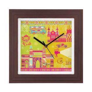 Bombay Dramatics Wall Clock