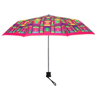 Palatial Illusions 3 Fold Umbrella | Rainy Umbrella