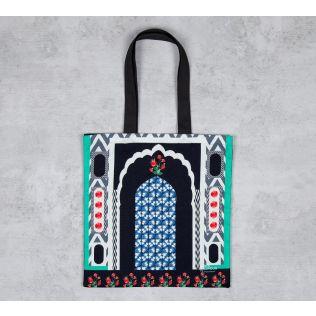 Chevron Ingress Jhola Bag