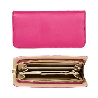 Train of Timourous Zipper Wallet