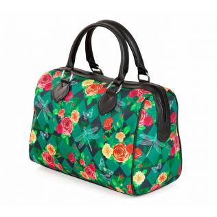 Floral Flutter Duffle Bag