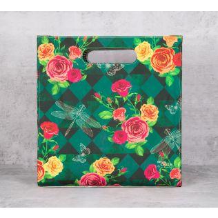 Floral Flutter Tote Bag