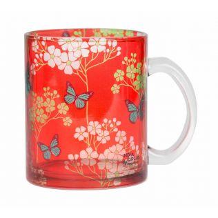 Butterfly Effect Glass Mug