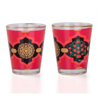 Latticed Synergy Shot Glass