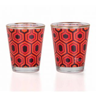 Prismatic Hexagons Shot Glass