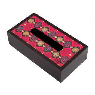 Latticed Synergy MDF Tissue Box Holder