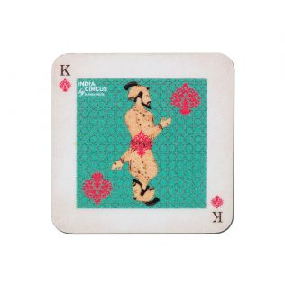 Mughal King Playing Card Fridge Magnet