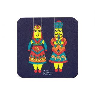 Kathputli's of Rajasthan Fridge Magnet