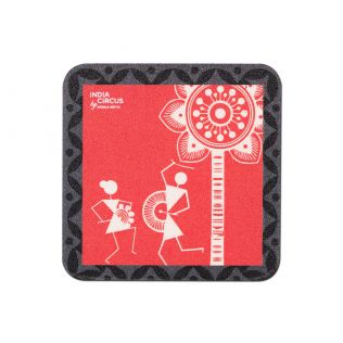 Warli Talasari Dance Fridge Magnet