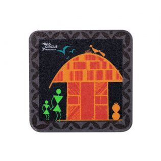 Warli Gunya Fridge Magnet