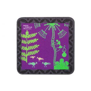 Warli Effervescence Fridge Magnet
