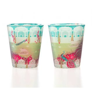 Garden of ascendancy Shot Glass (Set of 2)