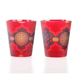 Latticed Synergy Shot Glass (Set of 2)