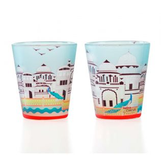 Castle of Living Waters Shot Glass (Set of 2)