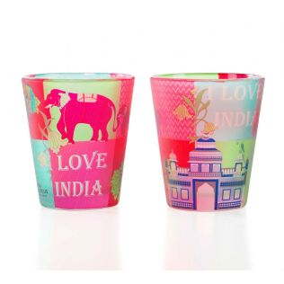 Pop Patriot Shot Glass (Set of 2)