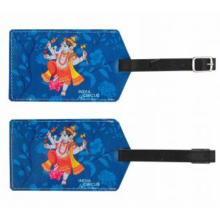 Ganesha Purana Travel Tag (Set of 2)