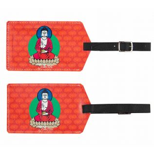 Buddatva Mandala Travel Tag (Set of 2)