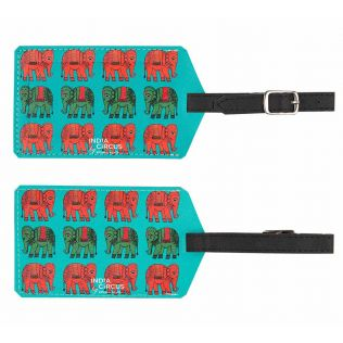 Haathi Howda Yatra Travel Tag (Set of 2)