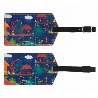 Village Reverie Travel Tag (Set of 2)