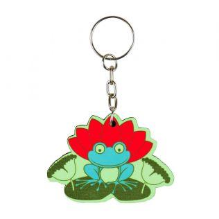Lotus Toad Keychain